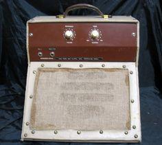 Tube Guitar Amplifier Amp Vintage Folk Art Home Made / Brew Garage Rock