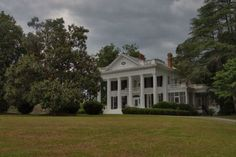 Sylvania GA Screven County Neoclassical Revival Architecture Landmark House Photograph Copyright Brian Brown Vanishing South Georgia USA 2014