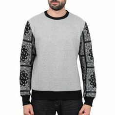 Sixth June - Bandana Sweater Gris