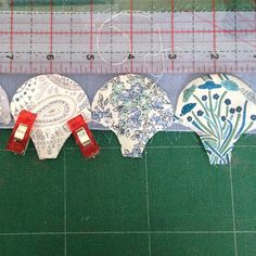 There may be as many different ways to do clamshells as there are quilters. I decided to try a few using my favourite Liberty blues while m...