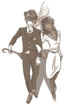 1940s Nico di Angelo and Hazel Levesque>>HOLY CRAP I COULD JUST OHMYGOSH HE'S GORGEOUS AND HAZEL IS JUST BEAUTIFUL XD