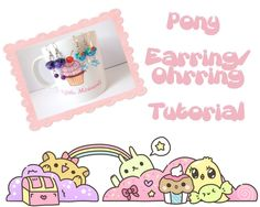 Pony Earring tutorial