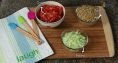 La quinoa, ingrediente principal de nuestro #tabule, aporta 16 gramos de proteína por cada 100 gramos ingeridos. #PataCook