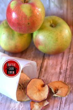 Apple Chip Snack - Creative Cain Cabin