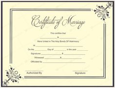 Ms office marriage certificate template microsoft office samples sample certificate templates 10 beautiful marriage certificate templates to try this season yadclub Image collections