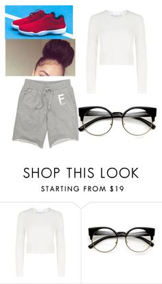 """late for school outfit. "" by kimxoo3 ❤ liked on Polyvore featuring Charlie May"