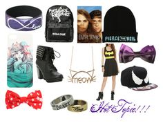 """""""Hot Topic"""" by kikilee01 on Polyvore"""