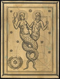 "Ravi Zupa - ""Nuwa and Fu Xi"" - $500"
