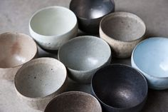 ceramic bowls from toki no kumo