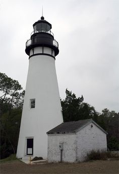 Amelia Island Lighthouse ◉ re-pinned by http://www.waterfront-properties.com
