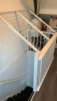 Wasrek trapsgat #trapsgat #wasrek voor boven het trapgat