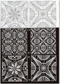 Transcendent Crochet a Solid Granny Square Ideas. Inconceivable Crochet a Solid Granny Square Ideas. Crochet Motif Patterns, Square Patterns, Lace Patterns, Crochet Chart, Crochet Squares, Thread Crochet, Crochet Stitches, Stitch Patterns, Granny Squares