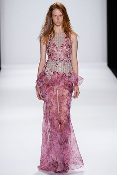 Badgley Mischka Spring 2015 Ready-to-Wear Fashion Show Collection
