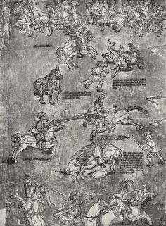 Artist: Breu, Jörg d. Ä., Title: Die Belehnung König Ferdinands mit den österreichischen Erblanden, Detail [10/23], Date: 1530