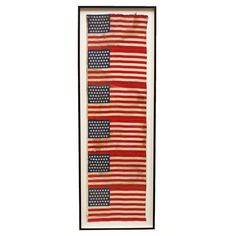 1896 45 Star Uncut American Flags