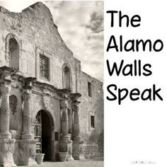 Imagine that you are one of the Alamo walls in 1836. What would you have seen? Experienced? In this activity you will challenge your students to write a story describing what they would have experienced if they had been at the Battle of the Alamo from the point of view of a wall.