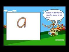 Pratique de lecture - Les voyelles - YouTube French Teaching Resources, Teaching French, French Alphabet, French Songs, Core French, French Teacher, French Immersion, Letter Recognition, Classroom Organization