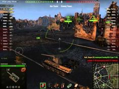 World of tanks Is + Panther Platoon Ruinberg on fire Gameplay - YouTube