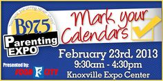 B97.5 Parenting Expo @ The Knoxville Expo Center