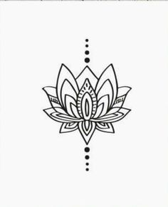 Ideen für Tattoo Lotus Design Hennamuster - Эскиз тату- ideas for tattoo lotus design henna patterns Ideen für Tattoo Lotus Design Hennamuster Mandala Tattoo Design, Henna Tattoo Designs, Mandala Art, Mehndi Designs, Lotus Mandala, White Mandala Tattoo, Element Tattoo, Lotus Design, New Tattoos