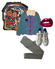 brown sugar by snazzyhancia on Polyvore featuring polyvore, fashion, style, Topshop, adidas, Fila and clothing