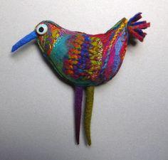 Elizabeth Armstrong - Hand Felted Birds