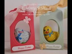 Learn how to create this adorable Easter Treat using the Scalloped Tag Topper Punch!  Visit http://www.becreativestamping.com/be-creative-stamping/2015/04/scalloped-tag-topper-punch-easter-treat.html for all the details.  Happy Easter!