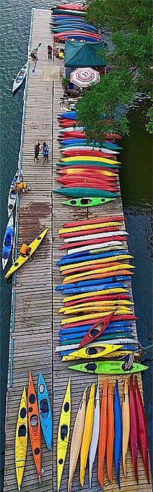 Embarcadero de Kayaks.