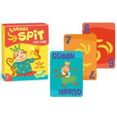 Banana Spit Card Game - Smart Kids Toys