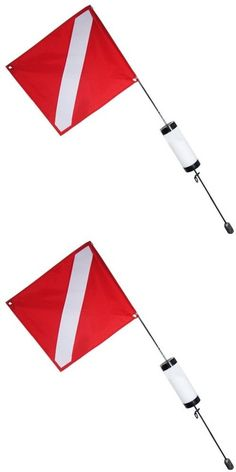 Flags and Markers 73999: Scuba Choice Scuba Diving Spearfishing Free Dive Flag With Weight Float, 4 , -> BUY IT NOW ONLY: $37.21 on eBay!