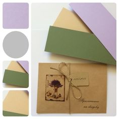 Provence Wedding Invitation Design