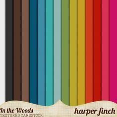 In the Woods Cardstock by Harper Finch by harperfinch.deviantart.com on @deviantART