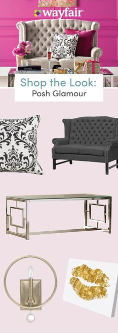 Want home decor inspiration you can add to cart? Explore tons of fully furnished styles at Wayfair, from mid-century furniture to modern accents, eclectic wall art to traditional lighting, and more! Visit Wayfair to upgrade your home design, and stay on b My Living Room, Living Room Decor, Bedroom Decor, Wall Decor, My New Room, My Room, Style Cottage, Mid Century Furniture, Home Decor Inspiration
