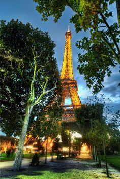 Here is beautiful Paris...