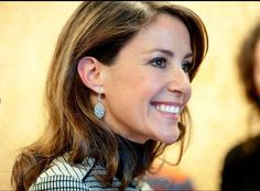 """Princess Marie opened a new center """"Spirit Ecco"""" in Tonder February 17, 2015"""