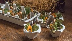 Add a touch of fragrance to your next fireplace fire or campfire by including aromatic herbs into your homemade fire starters.