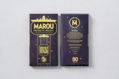 Marou for AirFrance via @The Dieline
