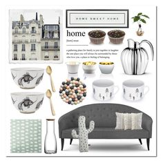 """Home Modern Home"" by linmari ❤ liked on Polyvore featuring interior, interiors, interior design, home, home decor, interior decorating, Zara, Vintage Playing Cards, Rory Dobner and Skultuna"