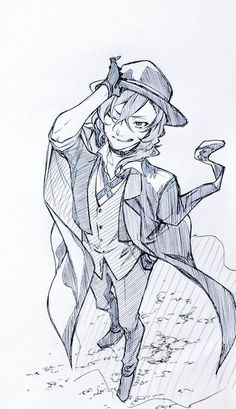 Anime Manga, Anime Art, Chuuya Nakahara, Bongou Stray Dogs, Noragami, Jojo Bizarre, Jojo's Bizarre Adventure, Dog Art, Traditional Art