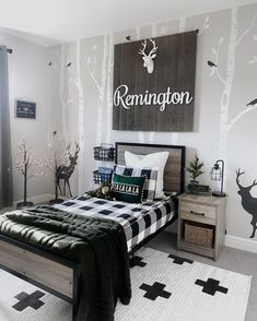 Designed by @ourpnw_home Boys Room Decor, Boy Room, Inspirational Wallpapers, Rugs Online, Area Rugs, New Homes, Interior Design, Furniture, Home Decor