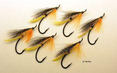 Silver Down East Hair Wings, Steelhead Flies, Salmon Flies, Fly Tying Patterns, Fly Fishing, Jr, Silver, Ideas, Fly Tying