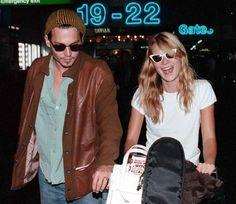 Kate Moss & Johnny Depp, 90's.