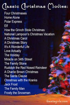 Christmas Cheer To-Do List   Classic Christmas Movies   Christmas Playlist