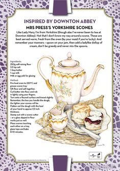 Downton Abbey Mrs. Press's Yorkshire Scones