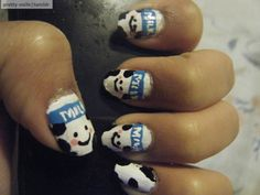 cow nails got milk