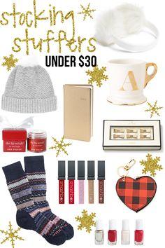 Stocking Stuffer Ideas Under $30
