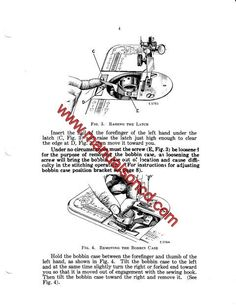 Singer 500 Series Sewing Machine Service Manual. Covers