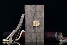 Michael Kors iPhone 6/6S Plus Tri fold Flip Wallet Case Khaki