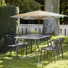 Ikarus Landhausschirm aus Eichenholz #Sonnenschirm #Schirm #Terrasse #Garten #Balkon #Gartenmöbel #Galaxus