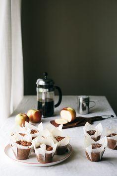 Apple Honey Muffins